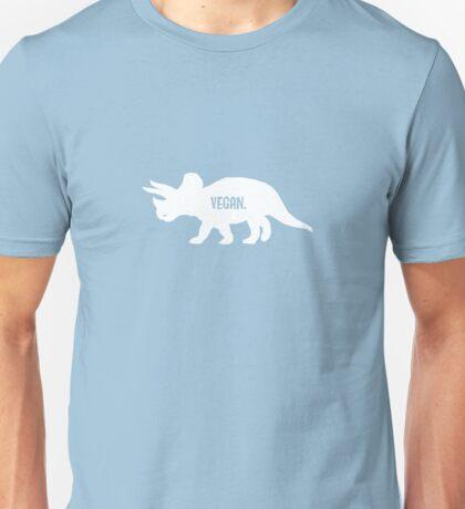 Triceratops Love Veggies - Dark Unisex T-Shirt
