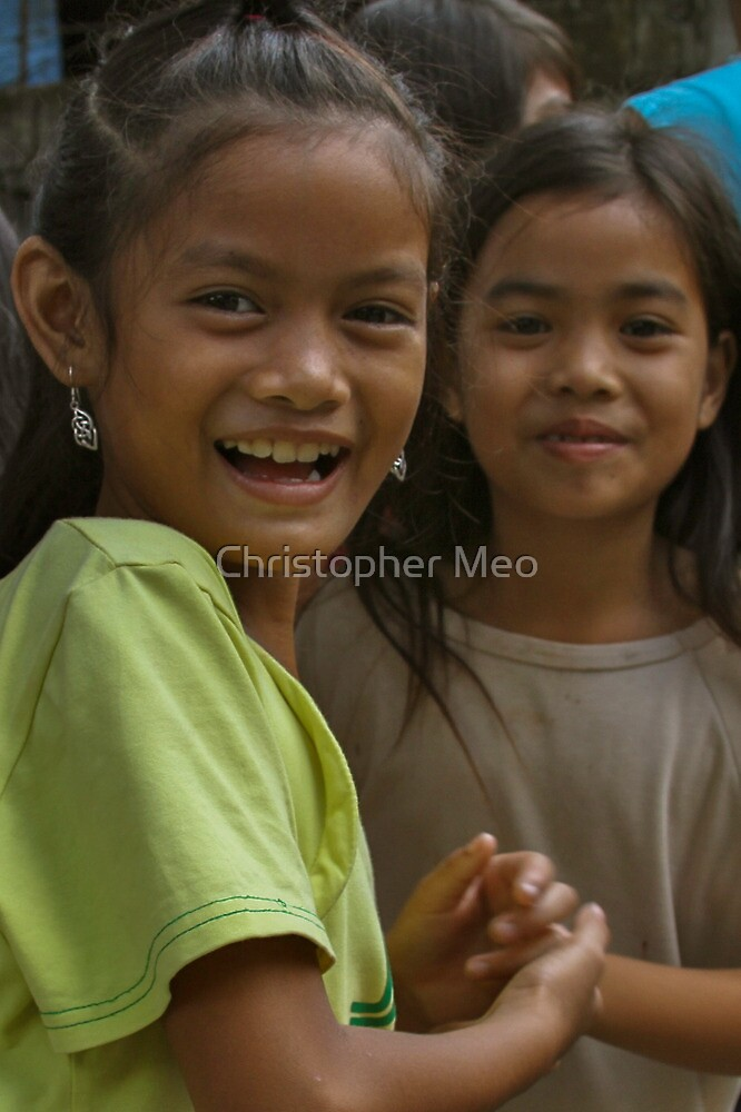 Philippine Children by Christopher Meo
