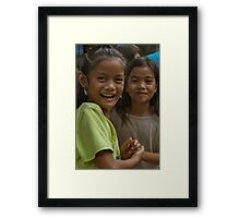 Philippine Children Framed Print