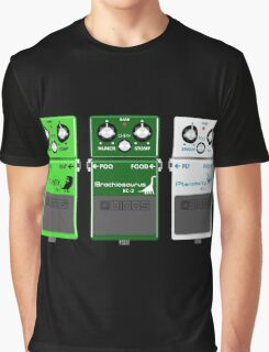 Dinosaur Effects Pedals Graphic T-Shirt