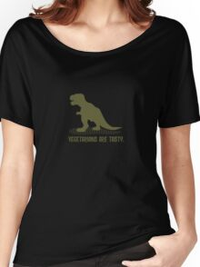 Tyrannousaurs Loves Vegetarians Women's Relaxed Fit T-Shirt