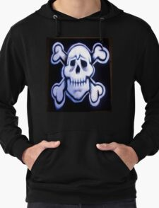 skull over crossed bones t Lightweight Hoodie