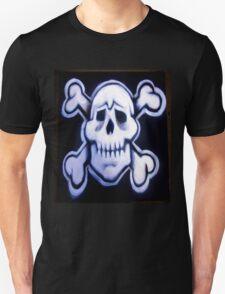 skull over crossed bones t T-Shirt