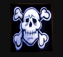 skull over crossed bones t Unisex T-Shirt