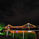 A Story Bridge From Afar by Peter Billiau