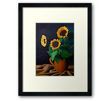 Rays Of Light by Juliette Perales Framed Print