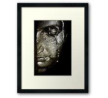 Repentance Framed Print