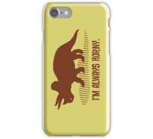 Triceratops is Always Horny. iPhone Case/Skin