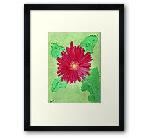 A Gift That Keeps Blooming Framed Print