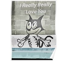 I Really Really Love You Poster