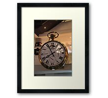 Fob Watch Framed Print