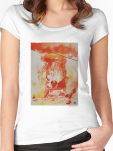 Hat Series #1 Hot Hats Women's Fitted Scoop T-Shirt