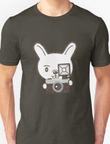 Cute Photographer Rabbit T-Shirt