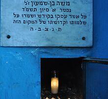 Eternal Flame...Caro Synagogue by jennifer corker