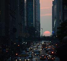 Manhattanhenge 2011 by jennifer corker
