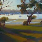 Afternoon Shadows, Gunnamatta Bay. (Critiques welcome) by Tash  Luedi Art