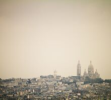 Sacre Coer by Matt  Williams