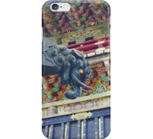 The Great Blue Dragon  iPhone Case/Skin