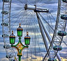Lamps and the Wheel HDR by Colin  Williams Photography