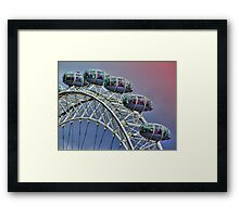 Eye Pods - HDR Framed Print