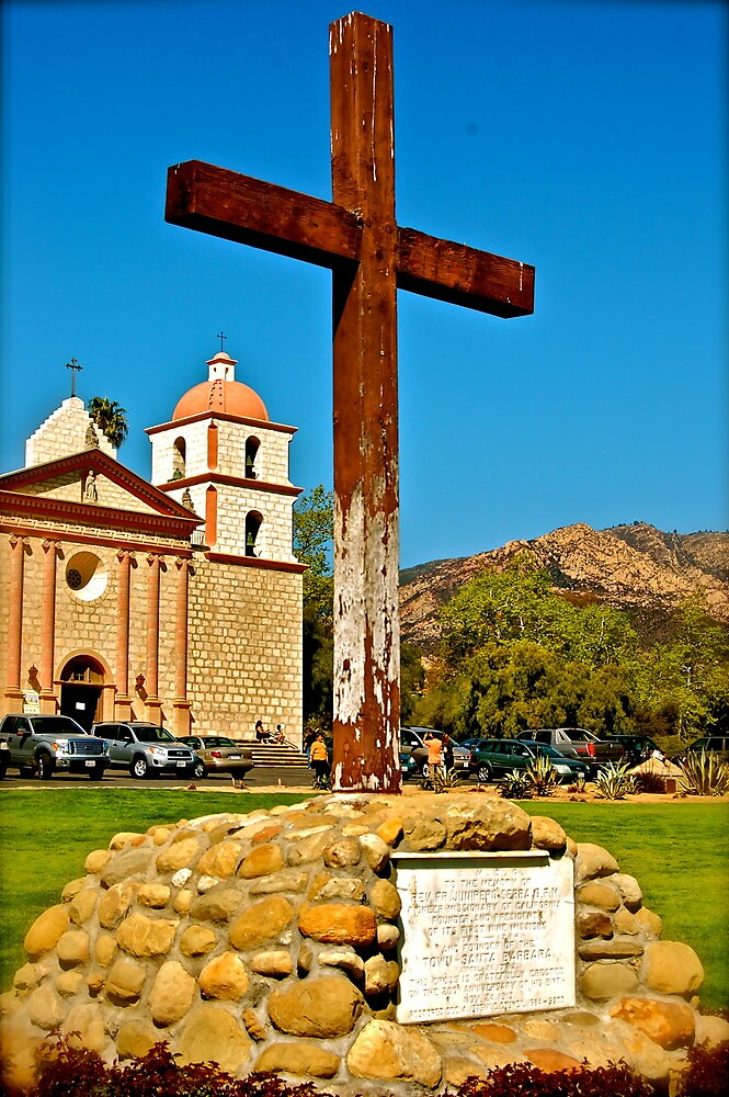 Santa Barbara Mission by Arkmage