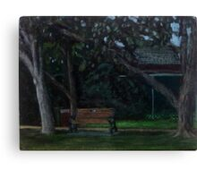En Plein Air - Centenial Park, Newcastle, NSW - June 2012 Canvas Print