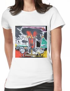 red shaman Womens Fitted T-Shirt