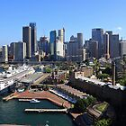 Cruiser Ship in Sydney by Jola Martysz