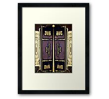"""""""War and Peace"""" (A) Framed Print"""