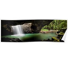 Natural Bridge, Springbrook National Park Poster