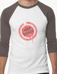 Wild Seven Men's Baseball ¾ T-Shirt