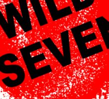 Wild Seven (clean) Sticker