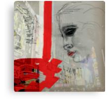 Sybil in New York Canvas Print
