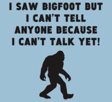I Saw Bigfoot Baby Tee