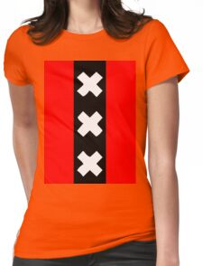 Amsterdam wapen Womens Fitted T-Shirt