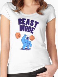 Beast Mode Women's Fitted Scoop T-Shirt