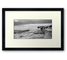 A Pool by the Sea Framed Print