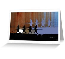 cable carriers Greeting Card
