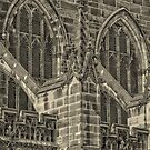 Chester Cathedral Wall by Stan Owen