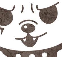 Cute Rocker Puppy Sticker