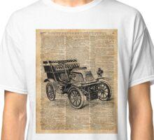 Classic Old Car,Vintage Vehicle,Antique Machine Dictionary Art Classic T-Shirt