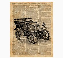 Classic Old Car,Vintage Vehicle,Antique Machine Dictionary Art Classic T-Shirt