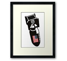 U.S. Bombs Framed Print