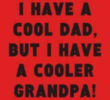 A Cooler Grandpa One Piece - Short Sleeve