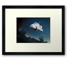 THE INVASION OF GOTHAM! Framed Print
