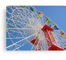 Ferris Wheel @ Luna Park Sydney Australia Canvas Print