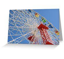 Ferris Wheel @ Luna Park Sydney Australia Greeting Card