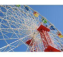 Ferris Wheel @ Luna Park Sydney Australia Photographic Print
