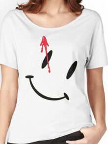 Watchmen Button Women's Relaxed Fit T-Shirt