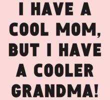 A Cooler Grandma One Piece - Short Sleeve